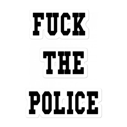 The Police Sticker Designed By Pinkanzee