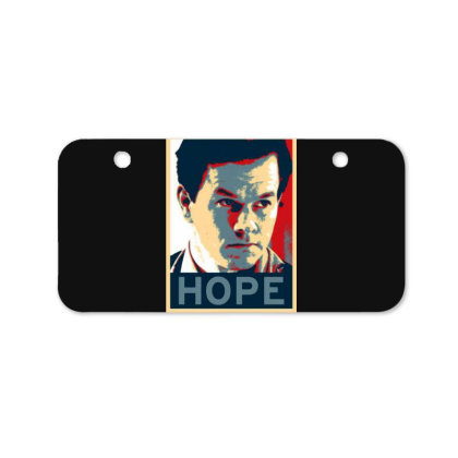 Hope Poster Bicycle License Plate Designed By Pinkanzee