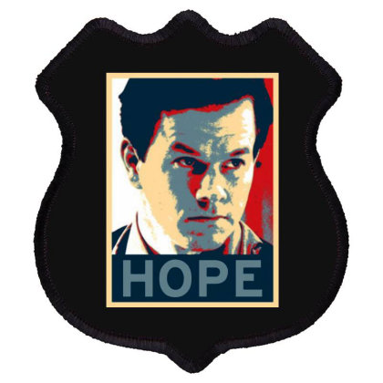 Hope Poster Shield Patch Designed By Pinkanzee