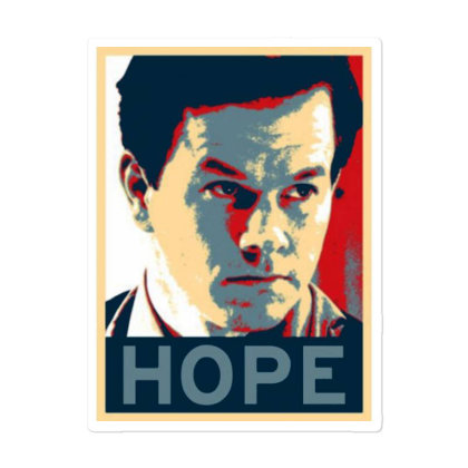 Hope Poster Sticker Designed By Pinkanzee