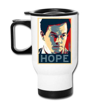 Hope Poster Travel Mug Designed By Pinkanzee