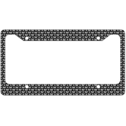 The Police License Plate Frame Designed By Pinkanzee