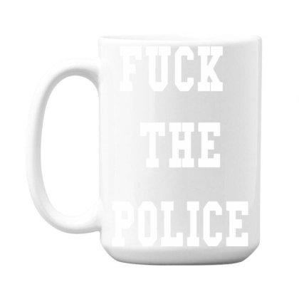The Police 15 Oz Coffe Mug Designed By Pinkanzee