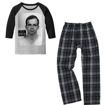 The Police Youth 3/4 Sleeve Pajama Set Designed By Pinkanzee