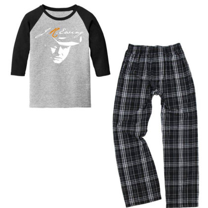 Awesome Youth 3/4 Sleeve Pajama Set Designed By Pinkanzee