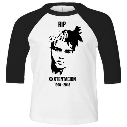 He Will Forever Be In Our Memories... Toddler 3/4 Sleeve Tee Designed By Pinkanzee