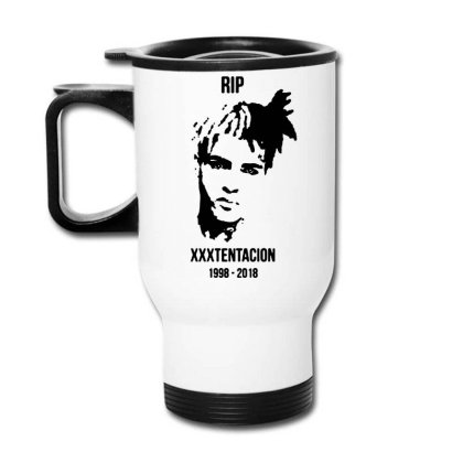 He Will Forever Be In Our Memories... Travel Mug Designed By Pinkanzee