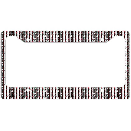 It License Plate Frame Designed By Pinkanzee