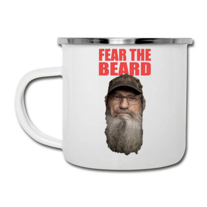 Fear The Beard Camper Cup Designed By Pinkanzee