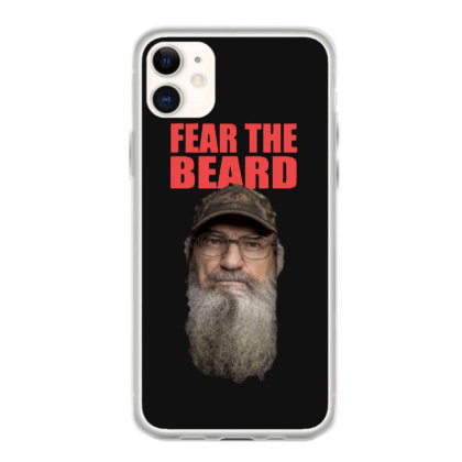 Fear The Beard Iphone 11 Case Designed By Pinkanzee