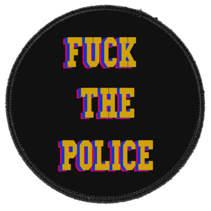 The Police Round Patch Designed By Pinkanzee
