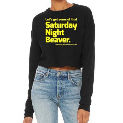 Boogie Nights Saturday Night Beaver Cropped Sweater Designed By Pinkanzee