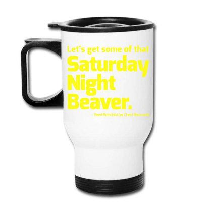 Boogie Nights Saturday Night Beaver Travel Mug Designed By Pinkanzee
