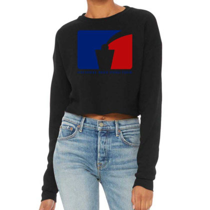 Pong Tour Cropped Sweater Designed By Pinkanzee