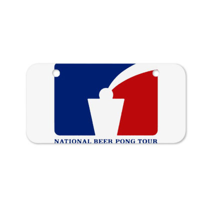 Pong Tour Bicycle License Plate Designed By Pinkanzee
