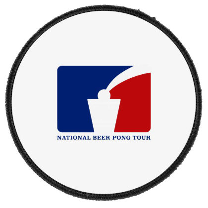 Pong Tour Round Patch Designed By Pinkanzee