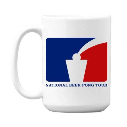 Pong Tour 15 Oz Coffe Mug Designed By Pinkanzee