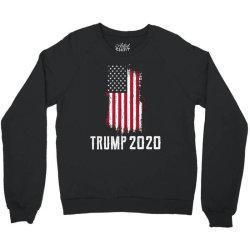 Donald Trump President - USA Flag Gift Political Crewneck Sweatshirt   Artistshot