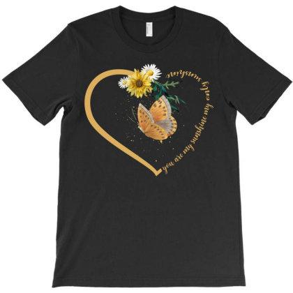 You Are My Sunshine My Only Sunshine T-shirt Designed By Badaudesign