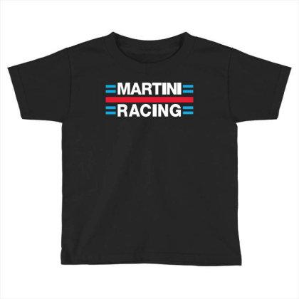 Martini Racing Toddler T-shirt Designed By Ampun Dj