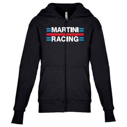 Martini Racing Youth Zipper Hoodie Designed By Ampun Dj