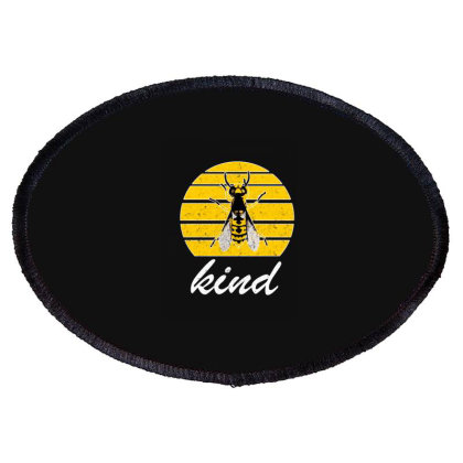 Bee Kind Oval Patch Designed By Bettercallsaul