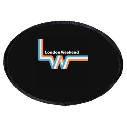 London Weekend Television Logo Oval Patch Designed By Cuser2397