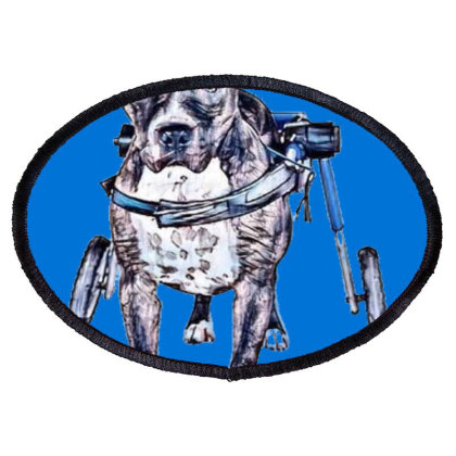A Handicapped Staffordshire B Oval Patch Designed By Kemnabi