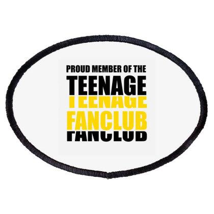 Teenage Teenage Fanclub Fanclub Oval Patch Designed By Cuser2397