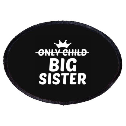 Big Sister White Oval Patch Designed By Perfect Designers