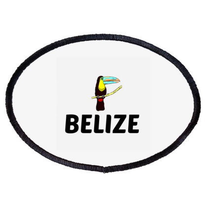 Belize Oval Patch Designed By Perfect Designers