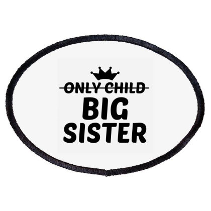 Big Sister Oval Patch Designed By Perfect Designers