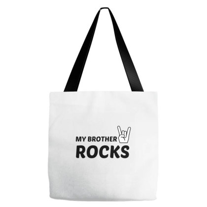 Brother Rocks Tote Bags Designed By Perfect Designers