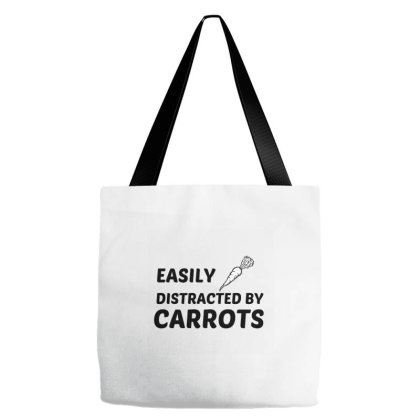 Carrots Easily Distracted Tote Bags Designed By Perfect Designers