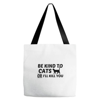 Cat Kind Tote Bags Designed By Perfect Designers