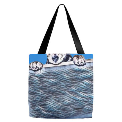 Chihuahua Mixed Breed Three M Tote Bags Designed By Kemnabi