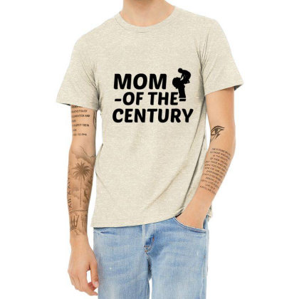 Century Mom Heather T-shirt Designed By Perfect Designers
