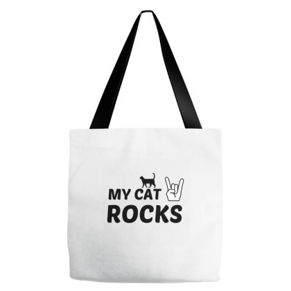 Cat Rocks Tote Bags Designed By Perfect Designers