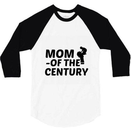 Century Mom 3/4 Sleeve Shirt Designed By Perfect Designers