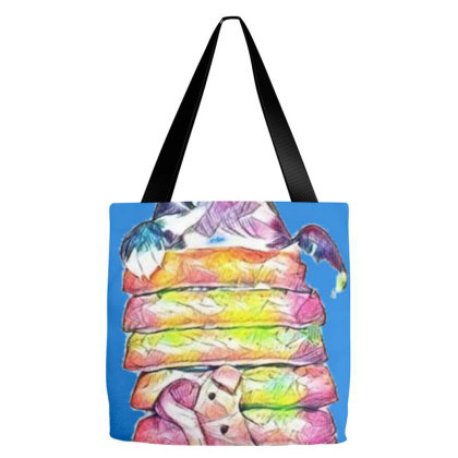 Funny Photo Of A Hungry Puppy Tote Bags Designed By Kemnabi