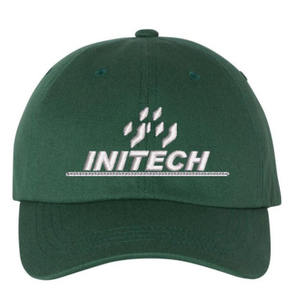 Initech Embroidered Dad Cap Designed By Madhatter