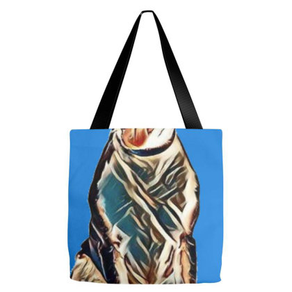 Cute And Happy Mixed Breed Me Tote Bags Designed By Kemnabi