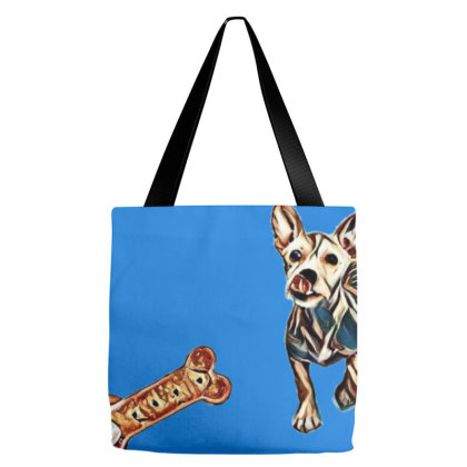 Cute Three Month Old Puppy Li Tote Bags Designed By Kemnabi