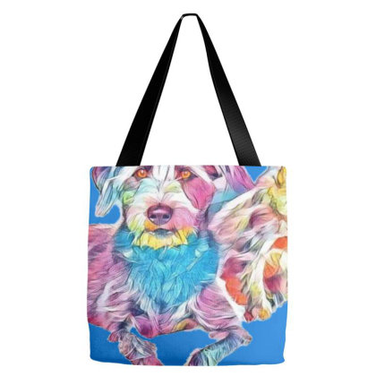 Two Adorable Little Scruffy T Tote Bags Designed By Kemnabi