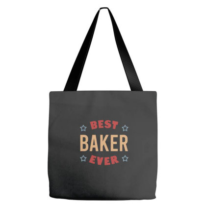 Best Baker Ever Tote Bags Designed By Cypryanus