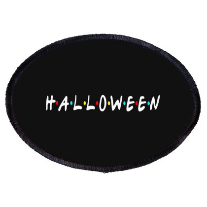 Halloween For Dark Oval Patch Designed By Palm Tees