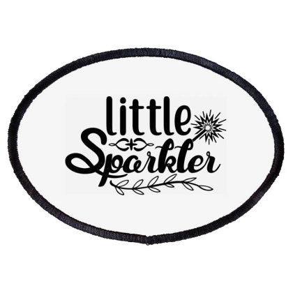 Little Sparkler Oval Patch Designed By Palm Tees
