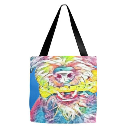 Large Terrier Mixed Breed Dog Tote Bags Designed By Kemnabi
