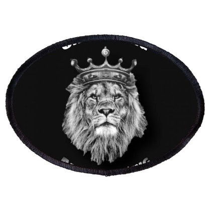 King Lion Oval Patch Designed By Mk_farhan_011