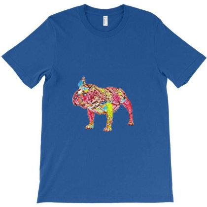 Funny Bulldog Breed Dog Dress T-shirt Designed By Kemnabi